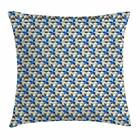 Vintage Abstract Throw Pillow Cases Cushion Covers Home Decor 8 Sizes Ambesonne