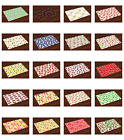 Fruits Placemats Set of 4 by Ambesonne Washable Fabric Place Mats