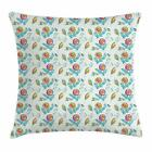 Vintage Fabric Throw Pillow Cases Cushion Covers Home Decor 8 Sizes