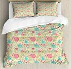 Jasmine Duvet Cover Set Twin Queen King Sizes with Pillow Shams