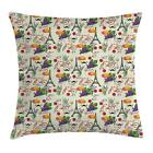 Modern Romantic Throw Pillow Cases Cushion Covers Home Decor 8 Sizes Ambesonne
