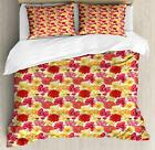 Spring Garden Art Duvet Cover Set Twin Queen King Sizes with Pillow Shams image