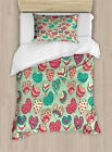 Romantic Love Duvet Cover Set Twin Queen King Sizes with Pillow Shams