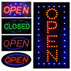 Ultra Bright LED Neon Light Business Sign Animated Motion Display Open w/ ON/OFF