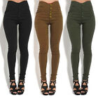 Women's Skinny Pants High Waisted Stretch Slim Casual Pencil