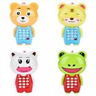 Kid Boy Girl Toddler Baby Educational Music Light Up Mobile Cell Phone Toys AM