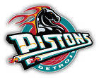 Detroit Pistons NBA Basketball Combo Car Bumper Sticker  9'', 12'' or 14'' on eBay