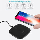 Qi Wireless Charging Charger Pad Plate For iPhone 5 5S 6 6S 6 7 Plus 8 X Plus DE