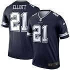 Ezekiel Elliott Dallas Cowboys Nike Color Rush Legend NFL Jersey Navy
