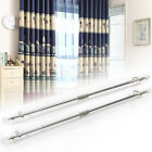 curtain rails - Crystal Balls Roses Finish End Extendable Metal Curtain Pole Rail 47-82 Inch