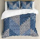 Blue Duvet Cover Set Twin Queen King Sizes with Pillow Shams Bedding Decor
