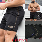 Men's Sports Training Bodybuilding Summer Shorts Workout Fit
