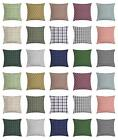Classic Plaid Throw Pillow Cases Cushion Covers Home Decor 8 Sizes