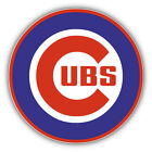 Chicago Cubs MLB Baseball Combo Logo Car Bumper Sticker Decal - 3'' or 5'' on Ebay