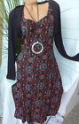Joe Browns Jersey Stretch Dress Size 40 - 58 (034) Layered Look New