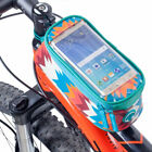 Bike Cycling Bicycle Pannier Frame Front Tube Bag Pouch Mobile Phone Holder New