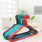 Drying Hanger Multi Colored Adult Plastic Iron Wire Coat Hangers Clothes Laundry