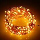 20/50/100 LED String Battery Operated Copper String Wire Fairy Lights Xmas Party
