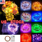 Kyпить 20/50/100 LED String Battery Operated Copper String Wire Fairy Lights Xmas Party на еВаy.соm