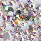 UK_ EG_ 1440/144/288pcs AB DIY Flatback Rhinestones for Nail Art Phone Case Deco
