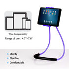 Flexible Neck Cell Phone Holder Lazy Tablet Bracket Free Rotating Mounts Stand