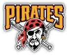 Pittsburgh Pirates MLB Baseball Combo Car Bumper Sticker - 9'', 12'' or 14'' on Ebay