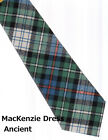 Tartan Tie Clan MacKenzie Or Pocket Square Scottish Wool Plaid