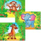 Mini Jungle Safari Animal Jigsaw Puzzles, Party Jigsaw Puzzles, Fillers, Any Qty