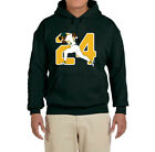 Oakland Athletics Rickey Henderson 24 Hooded Sweatshirt on Ebay