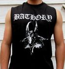 BATHORY PUNK ROCK  SLEEVELESS SHIRT MENS SIZES image