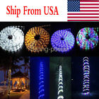 "3""-300"" LED Draw in Light Wire 110V Christmas Xmas Party Outdoor Lighting  Decor US"