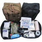 new Elite First Aid Kit Military IFAK Tactical Molle Individual F187 Level 1