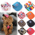 Pet Dog Hat Baseball Cap Windproof Travel Sports Sun Hats for Puppy Large Dogs B