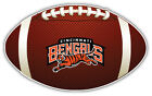 Cincinnati Bengals Full NFL Logo Ball Bumper Sticker Decal - 9'',12'' or 14'' on eBay