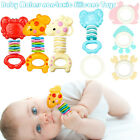 Внешний вид - Safety Baby Rattles Teether Toy Bars Biting Bells Silicone Teething Appease Toys