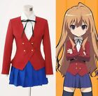 Toradora Gal Uniform Cosplay Costume*Custom Made* NEW HUJ