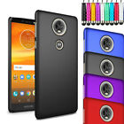 "Rubberized Armour Hard Case Cover For Motorola Moto E5 Plus 6.0"" + LCD + Stylus"