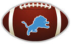 Detroit Lions NFL Logo Ball Car Bumper Sticker Decal  -  9'',12'' or 14'' on eBay