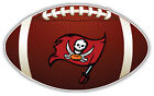 Tampa Bay Buccaneers Flag NFL Logo Ball Bumper Sticker Decal -  9'',12'' or 14'' $13.99 USD on eBay