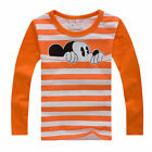 Kids Baby Girls Mickey Minnie Outfits Set Sweatshirt Hoodies Tops Pants Trousers