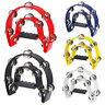 More images of Double Half Moon Tambourine Instrument 32 Grip Handle - White fee2dc BT