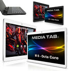 10 Zoll Tablet PC 4G LTE Dual Sim GPS Android 7.0 Nougat 64GB HD IPS 10.1