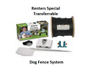 Dog Fence System Portable for RENTAL HOMES  Free Shipping