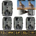 Lot Infrared Night Vision HD 1080P 12MP 120° Trail Security Camera Hunting Cam YGame & Trail Cameras - 52505