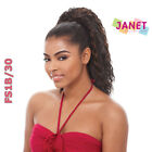 Janet Collection Synthetic Water Wave Drawstring Ponytail - KIWI