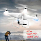 120°Wide Angle Dual GPS FPV RC Drone Live Video And Return Home RTF Quadcopter