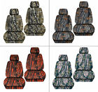 front car seat covers  woods camo pink/orange/gray fits grand cherokee 05-2018