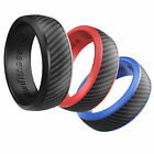 Kyпить IKonfittness 3 Colors Silicone Ring Rubber Wedding Band Flexible Gifts Men Women на еВаy.соm
