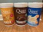 NEW QUEST PROTEIN POWDER VANILLA CHOCOLATE PEANUT BUTTER 2Lb SHAKE WHEY 23G $27.99 USD on eBay