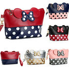 Women Travel Cosmetic Bag Cartoon Minnie Mouse Case Zipper M